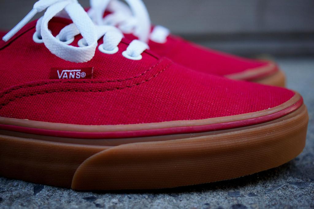 Vans Red Gum Sole dedicatedtodedications.co.uk 582a01700ffd
