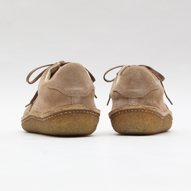 Verginia Vair Suede Crepe Sole Shoe